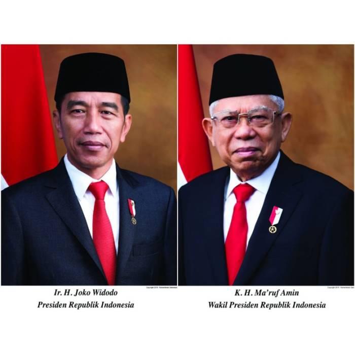 Foto resmi Jokowi-Ma
