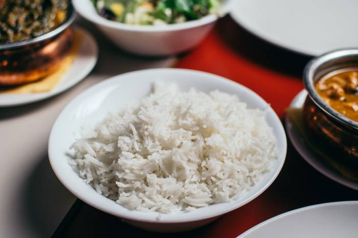 makanan pokok nasi