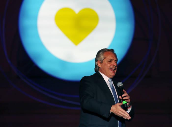 pelantikan presiden, presiden argentina, argentina, alberto fernandez