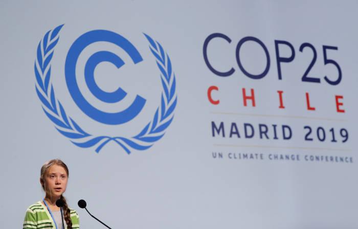 greta thunberg, COP25, perubahan iklim, lingkungan, madrid, konferensi iklim, iklim