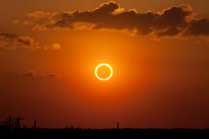 Gerhana Matahari Cincin pada 26 Desember, Ini 25 Kota yang akan Dilewati