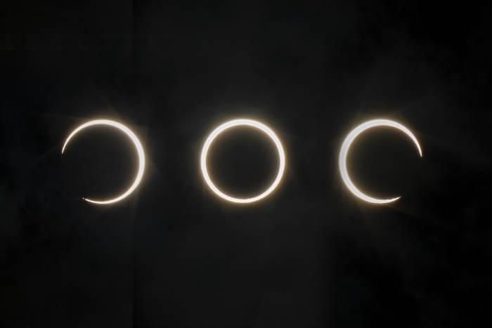 gerhana matahari cincin, gerhana matahari, gerhana matahari sebagian, gerhana, matahari, bulan