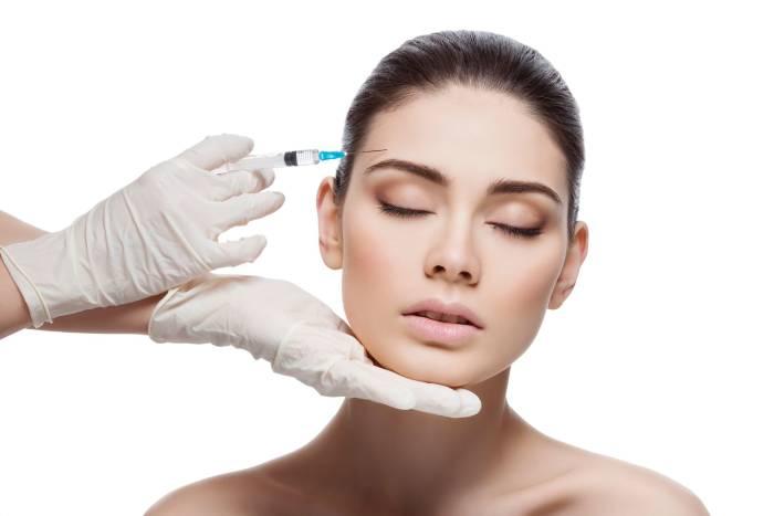 suntik botox perawatan wajah