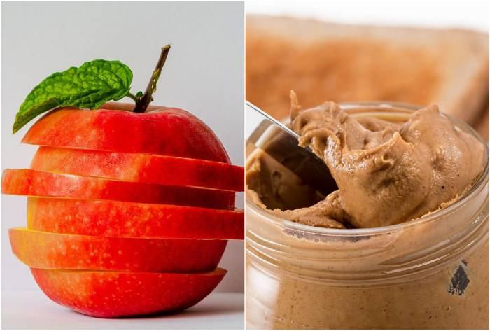 apel dan selai kacang camilan diabetes