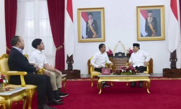 Jokowi bertemu Prabowo di Yogyakarta