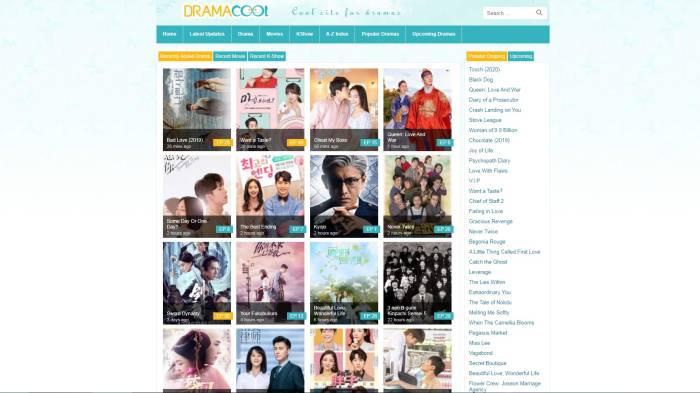 Dramacool situs streaming drama Korea