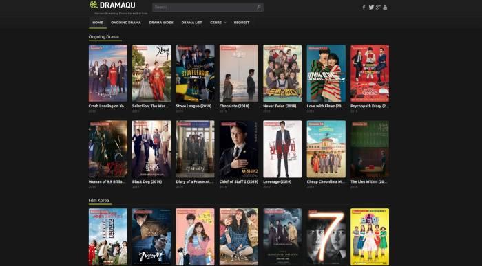DramaQu situs streaming drama korea gratis