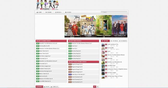 MyAsianTV situs streaming drama Korea