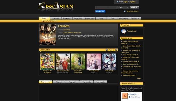 Kissasian.sh situs nonton drama Korea gratis