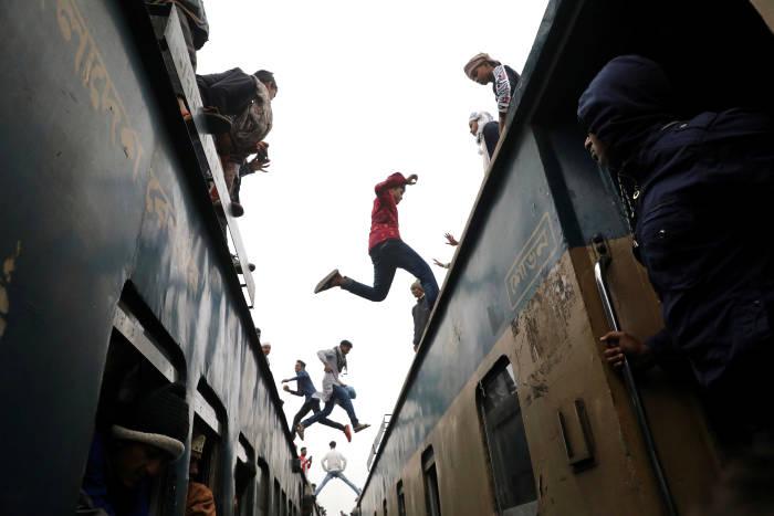bangladesh, kereta api, bishwa ijtema, muslim, kereta