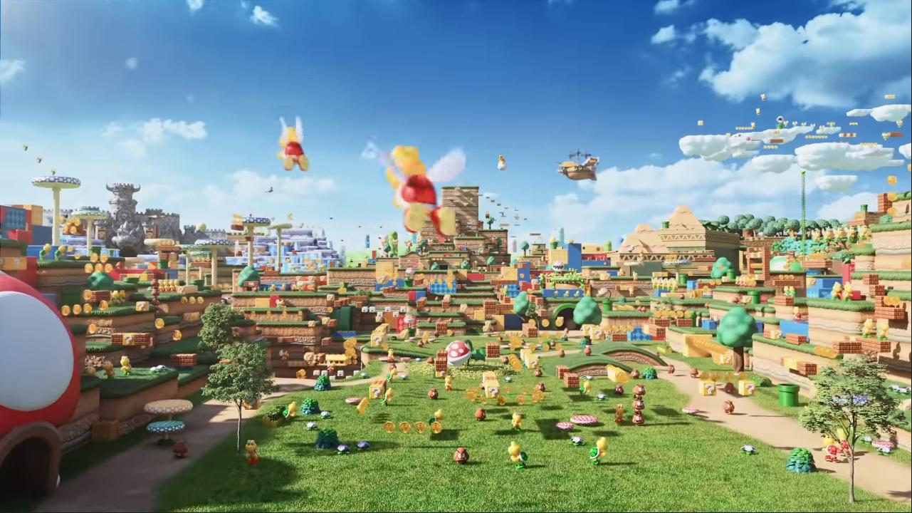 cuplikan video promosi Super Nintendo World