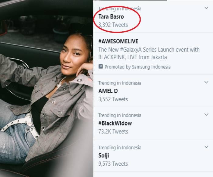 Tara Basro trending topic