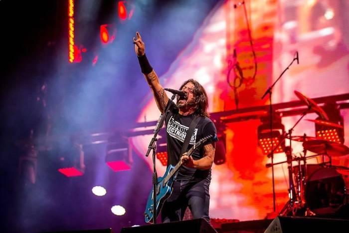 Dave Ghrol dari Foo Fighters