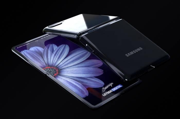 Render Samsung Galaxy Z Flip