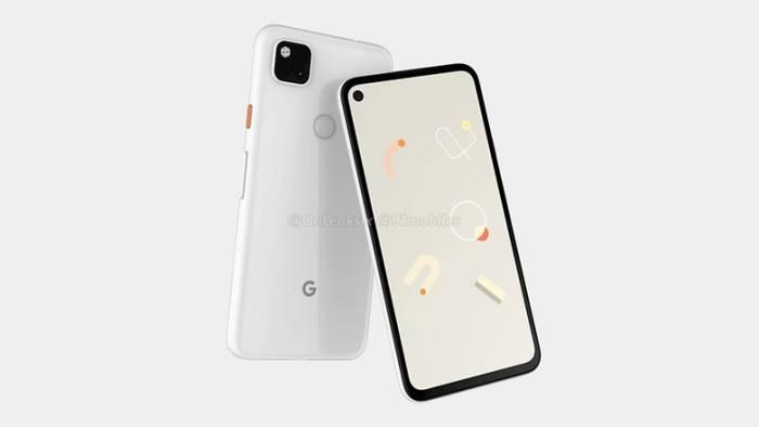 bocoran render Google Pixel 4a