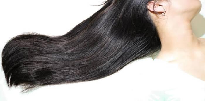 timun untuk rambut berkilau