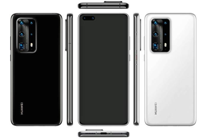 Bocoran render Huawei P40 Pro