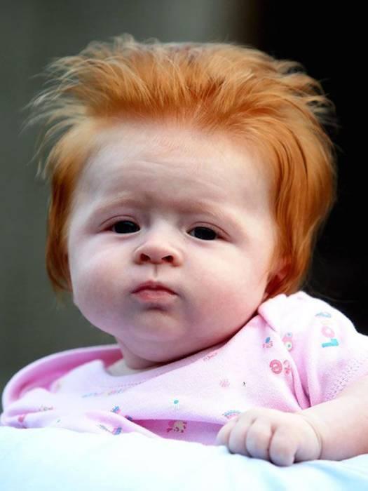 potongan rambut anak kecil yang unik