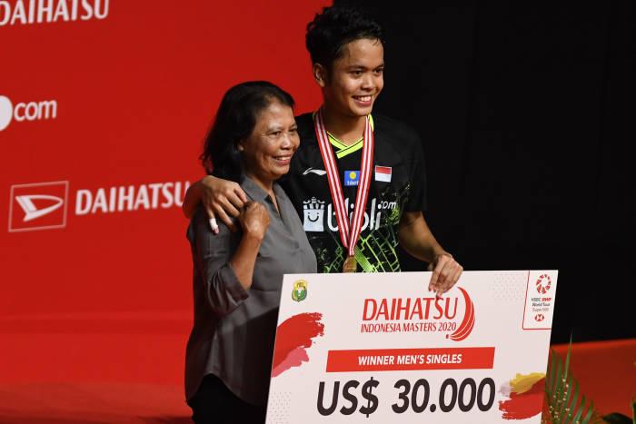 indonesia masters, indonesia masters 2020, bulu tangkis, istora senayan