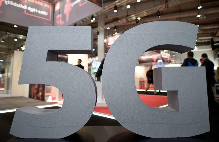 Logo 5G di event Hanover Trade Fair
