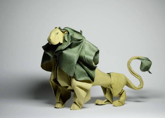 Origami hasil karya Hoang Tien Quyet