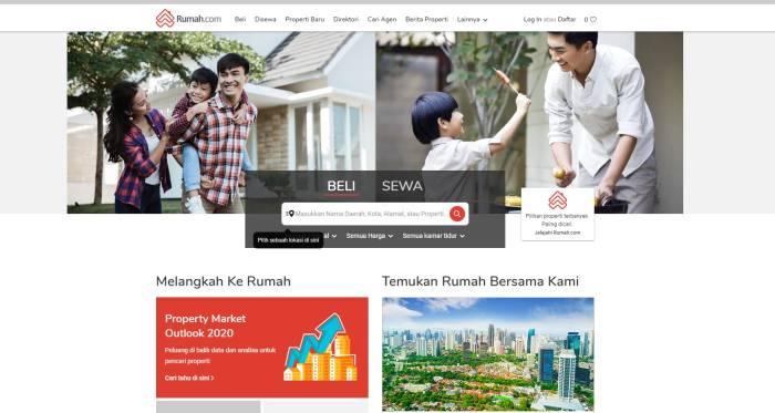 Situs jual beli rumah properti online terbaik terpercaya