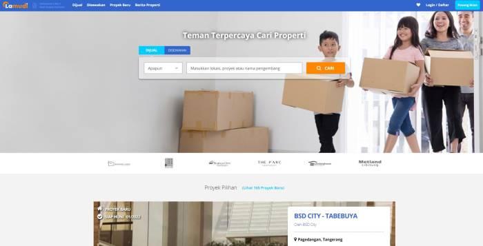 Situs jual beli rumah dan properti Lamudi