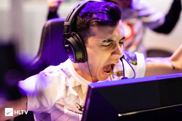 Salah satu pemain dari Mousesports, woxic
