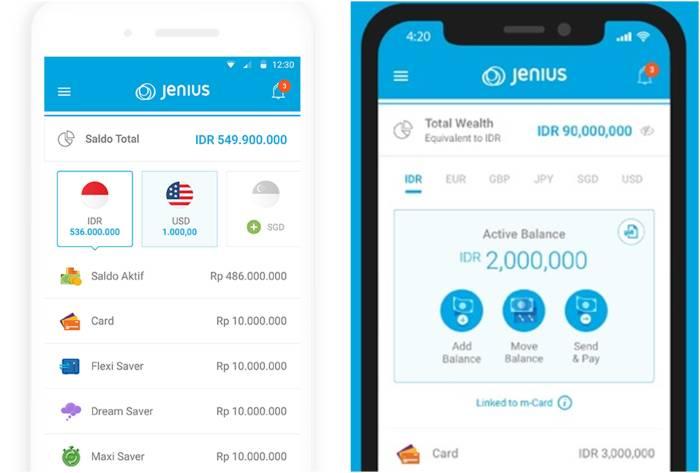 aplikasi menabung online JENIUS