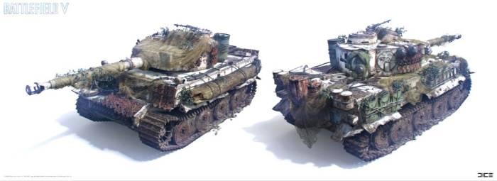 Kendaraan di game Battlefield V
