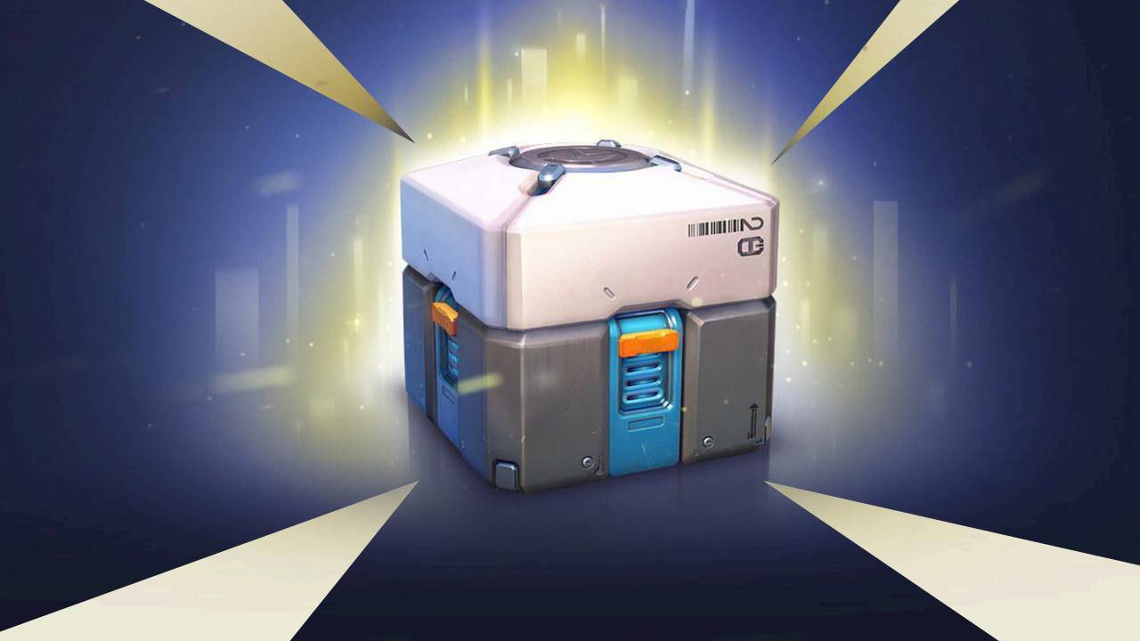 Contoh loot boxes di game Overwatch