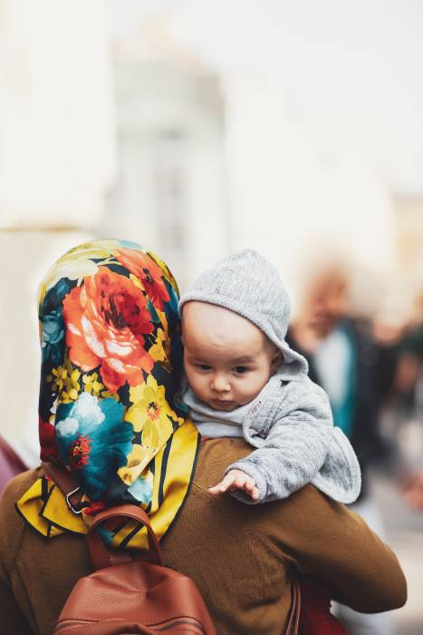 ibu berhijab