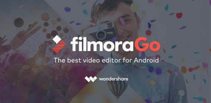 Aplikasi edit foto di smartphone FilmoraGo