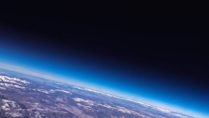Foto permukaan Bumi dari luar angkasa