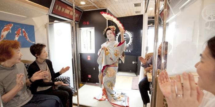 Maiko Train Jepang