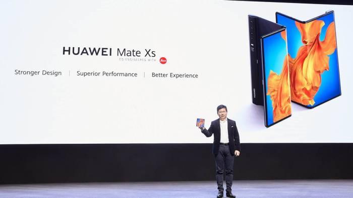 Acara peluncuran Huawei Mate Xs