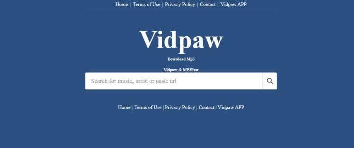 Download video YouTube dengan mudah dari Vidpaw