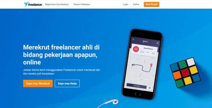 Situs loker freelance terpercaya Freelancer Indonesia