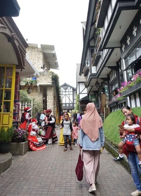 Tempat wisata alam hits Farm House Lembang