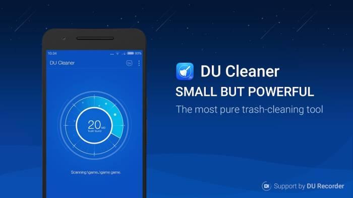 Aplikasi pembersih file sampah smartphone DU Cleane