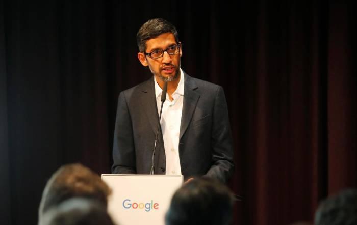 CEO of the Alphabet and Google, Sundar Pichai