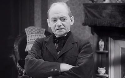 Charles Peace, berdasarkan penggambaran seorang aktor