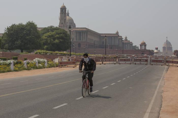 India Lockdown, New Delhi, coronavirus, corona, covid19, Lockdown, Update Corona 23 Maret 2020, Poster Corona, Narendra Modi, jalan sepi, jalanan sepi