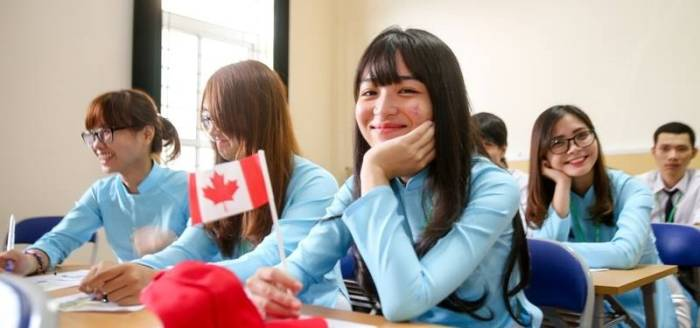 Anak sekolah di Kanada