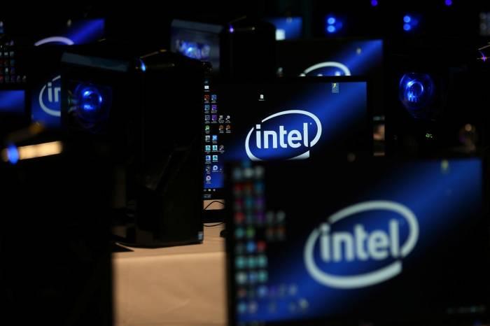 Logo perusahaan Intel