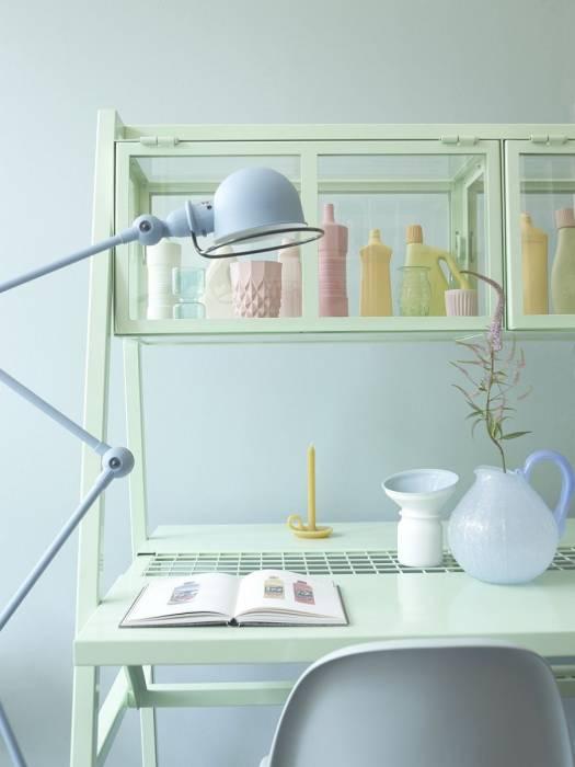 "Ide Dekorasi ""Home Office"" Bernuansa Pastel"
