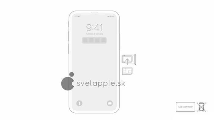 Ilustrasi iPhone 12 tanpa notch