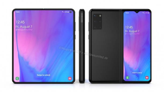 New renders show what the Samsung Galaxy Fold 2 could look like