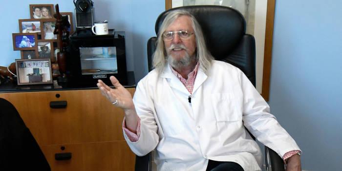 Profesor penemu obat virus corona.
