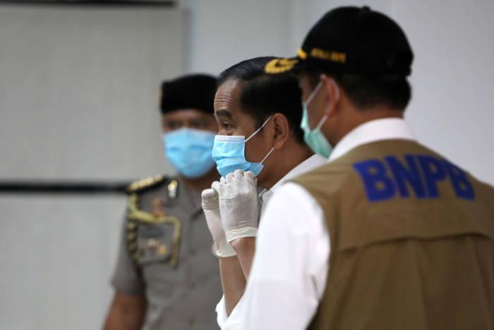 virus corona, covid-19, Presiden Jokowi, mudik lebaran,